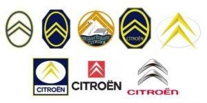 Geëvolueerd, maar altijd herkenbaar: de Double Chevron, het logo van Citroën. Afbeelding: Citroën
