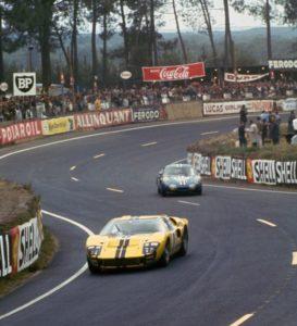 Ford maakte in de jaren zestig met de GT naam in Le Mans. Afbeelding: Ford, Ford Chip Ganassi Racing