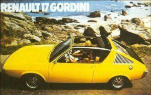 De R17 Gordini is één van de sportievelingen uit de historie van Renault welke in Apeldoorn te zien is. Afbeelding: Renault