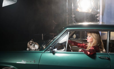 "Stars and cars: ""Grumpy Cat"", Georgia May Jagger and beautiful cars take center stage in the new calendar ""Opel Wonderland of Dreams""."