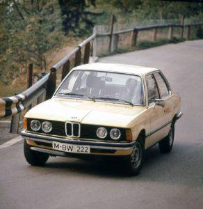 Zeer geliefd in de tweede helft van de jaren zeventig: de eerste 3-Serie van BMW. Afbeelding: BMW
