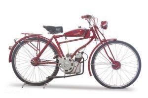 De Cucciolo. De eerste motorfiets van Ducati. Afbeelding: Ducati