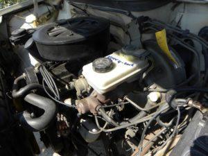 Een kokende motor