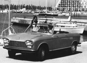 De 204 Cabriolet was een elegante verschijning. Afbeelding: Peugeot