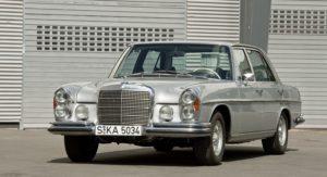 Simpelweg een waardige en statige automobiel. Afbeelding: Daimler AG