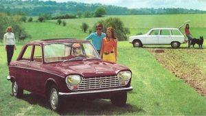 De sterkhouders sedan en break werd tot in de zomer van 1976 gebouwd. Afbeelding: Peugeot