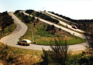 De bergroute, één van de onderdelen van het jubilerende Opel Test Center. © GM Company