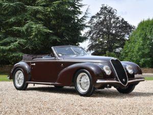 Deze prachtige Alfa Romeo 6C 2500 is onderdeel van de RM Sotheby's veiling in Londen op 7 september. Afbeelding: Tim Wood/RM Sotheby's