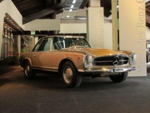 De exclusieve oldtimers van Mercedes-Benz blijken ondanks de marktcorrectie waardevast te zijn. Afbeelding: Erik van Putten