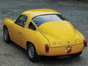 Deze unieke Fiat Abarth 750 Record Monza wordt morgen in London aangeboden. Afbeelding: RM Sotheby's
