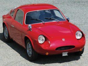 """Minstens zo fraai als de Abarth 750: deze 850 SS Record Monza """"Coda Tronca"""" van Zagato. Ook dit juweel wordt door RM Sotheby's in Londen aangeboden. Afbeelding: RM Sotheby's"""