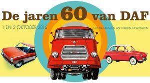 Het DAF Museum staat het komend weekend in het teken van de jaren zestig historie van de Eindhovense fabrikant. Afbeelding: DAF Museum