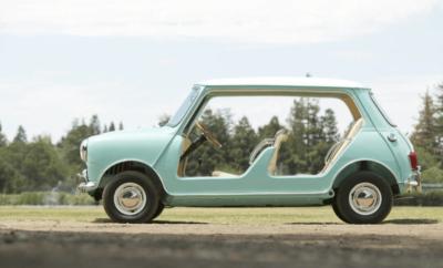 Dick Burzi ontwierp de Mini Beach Car. Er werden ooit 15 stuks van gebouwd