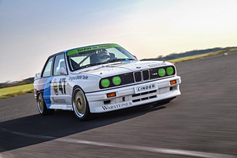 De M3 van BMW werd ook ontwikkeld voor competitieve doeleinden. Afbeelding: BMW AG
