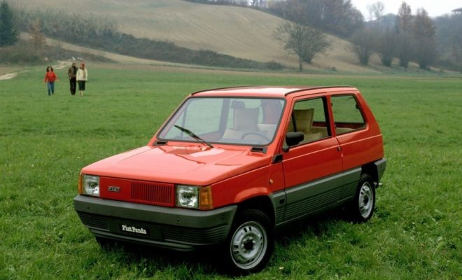 fiat panda was de trots van giorgetto giugiaro. Black Bedroom Furniture Sets. Home Design Ideas