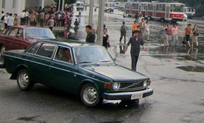Volvo's onbetaald, Diefstal. Noord Korea