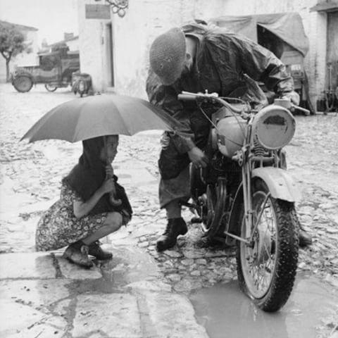 Bescherming tegen regen en lawaai