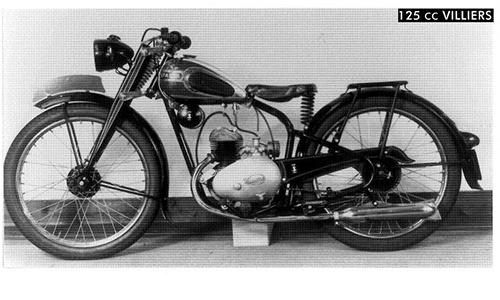 Vroeger... de motormarkt in 1948