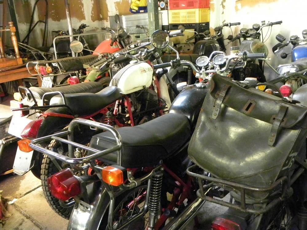 Pekelfietsen. Motorrijden in de winter
