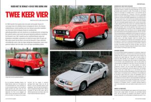 Renault 4 vs Ford Sierra XR4i