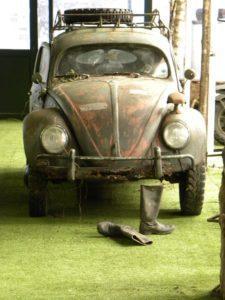 VW Kever of broodje aap