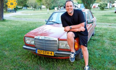 Mercedes van Frans Bauer