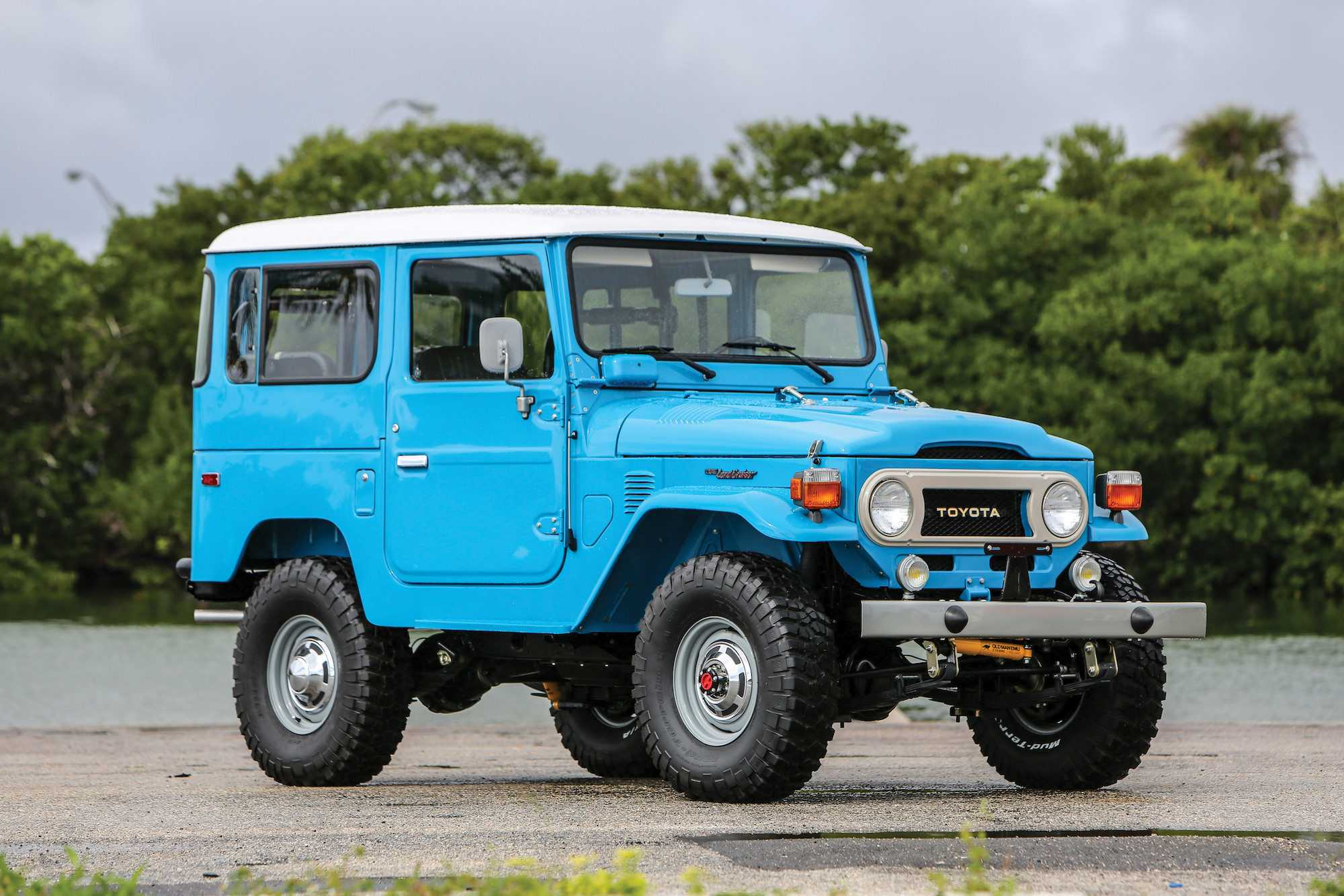 De Toyota Land Cruiser In Amk Nummer 11 Auto Motor Klassiek
