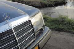 Zebrano Déguisement Moyen console chauffage Mercedes w124