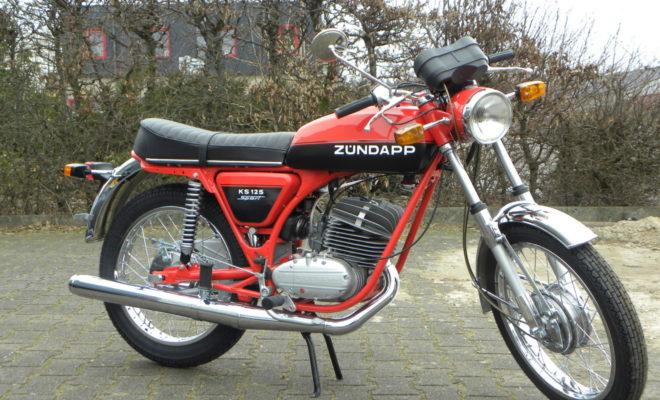 Spiksplinternieuw The Zündapp KS 125 Sport (1971-1977) - Car Motor Klassiek JZ-38
