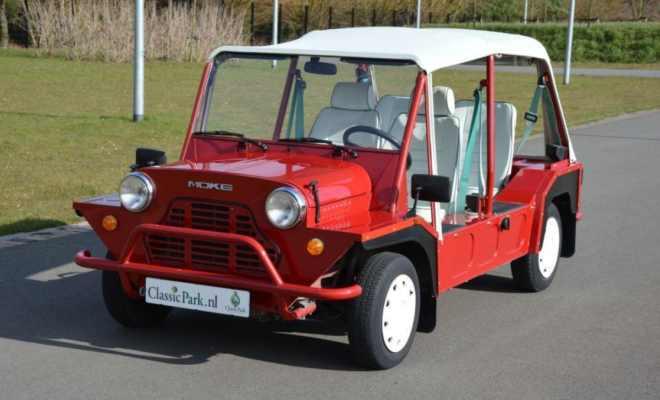 Der Mini Moke War Kein Jeep Auto Motor Klassiek