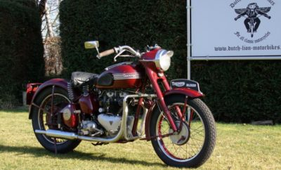 Triumph Speed Twin voorkant