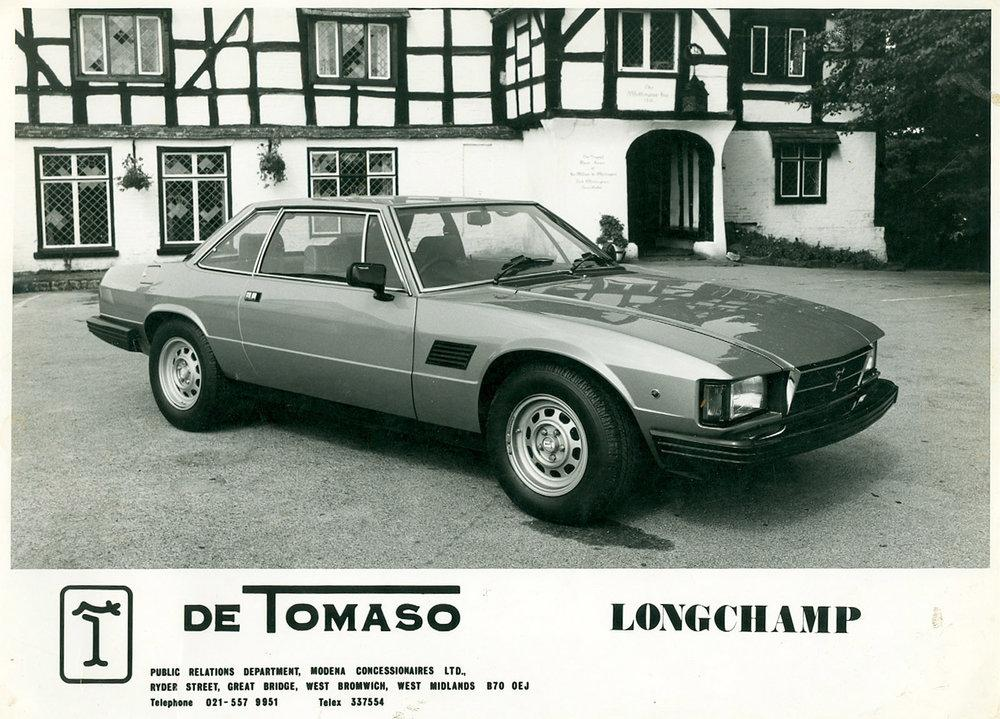 De Tomaso Longchamp, project
