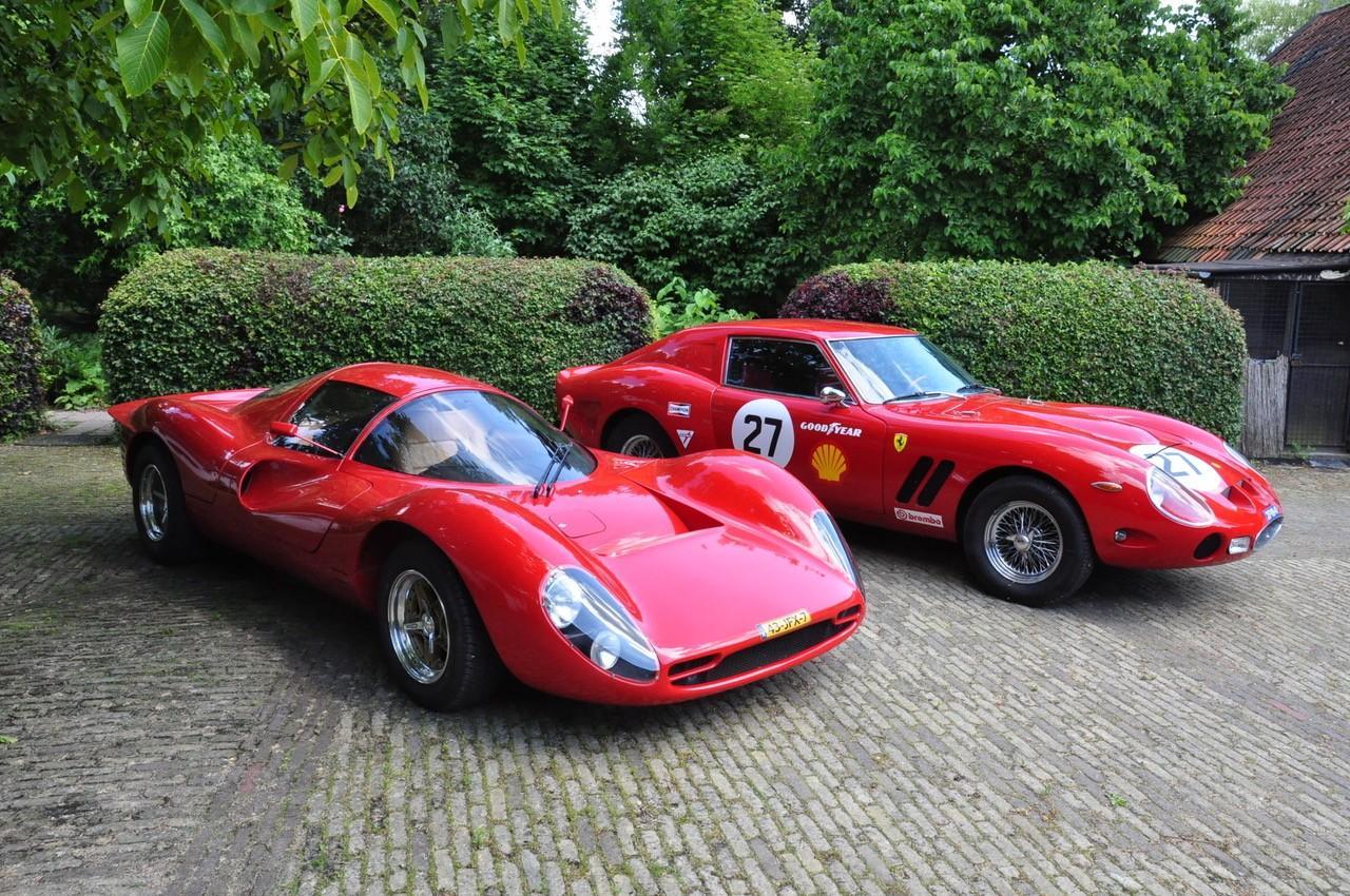 Ferrari 330 P4 Von Noble Während Des National Oldtimer Festival Oldtimer In Auto Motor Klassiek