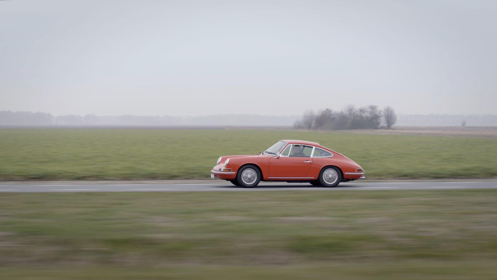 Vintage cars - Porsche Portraits, an eight-part series of