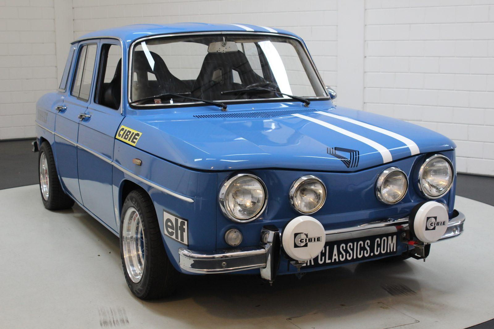 Renault R8 Gordini E French Racing Blue Carros Antigos Em Auto Motor Klassiek Evergreen Franca Oldtimers Renault