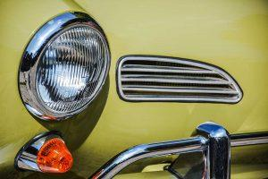 Volkswagen Karmann Ghia detail