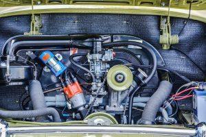 Volkswagen Karmann Ghia motorruimte