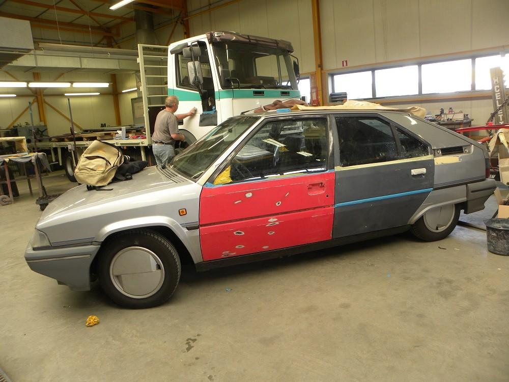 Oldtimer taxatie - Citroën BX nieuwe deuren
