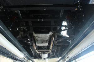 TVR 3000S - onderkant