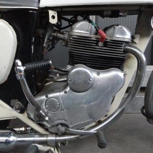 Norton Navigator motorblok zijkant