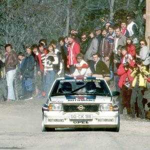 Opel Ascona 400-Förderung
