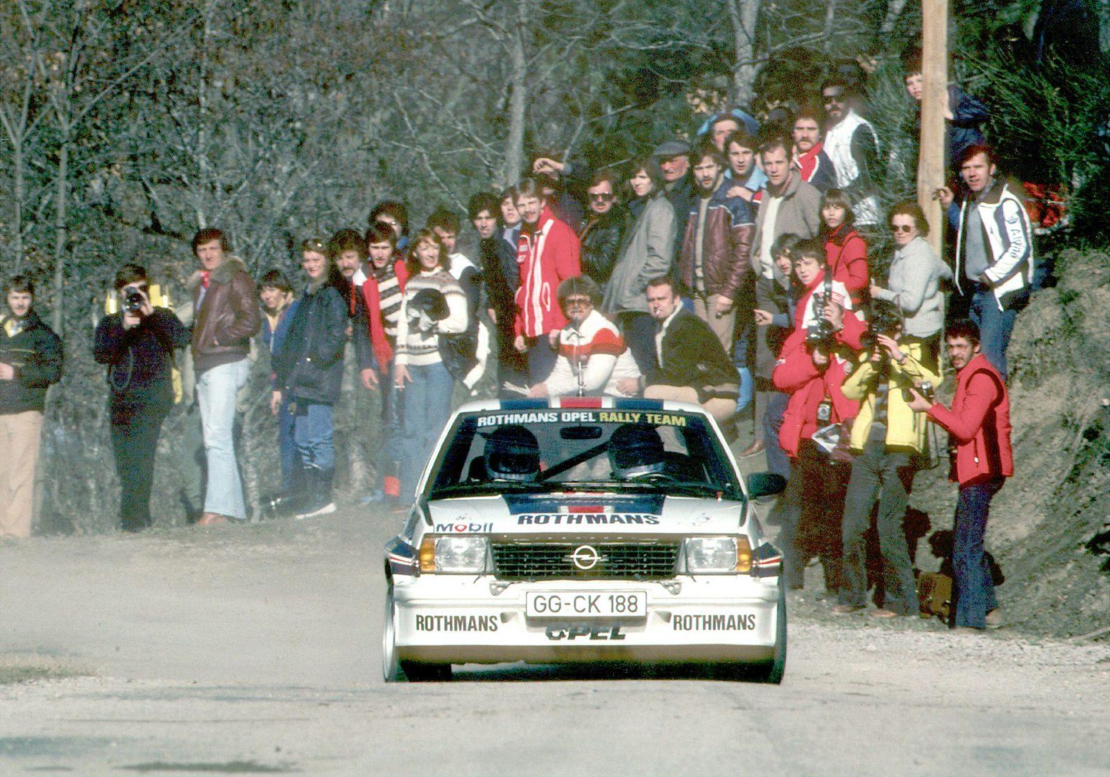 Opel Ascona 400 actie