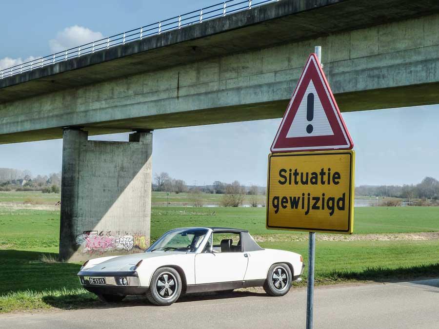 VW Porsche 914-6 situatie veranderd
