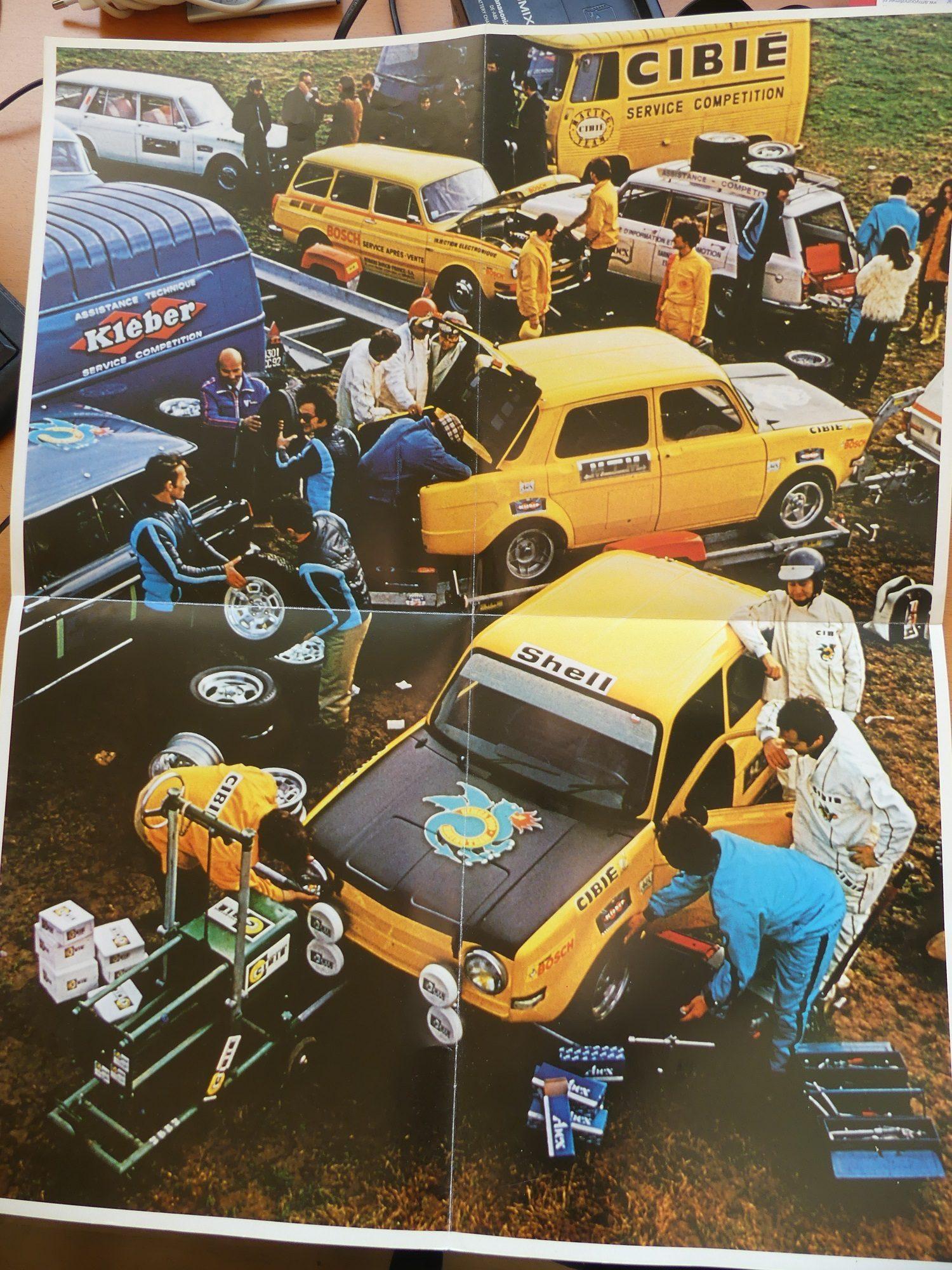 Simca 1000 Rallye folder