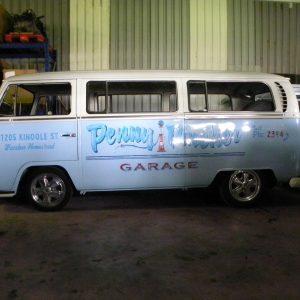 VW bus gered