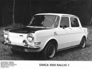 Simca 1000 Rallye 1 archief zijkant