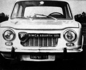 Simca 1000 Rallye archief voorkant
