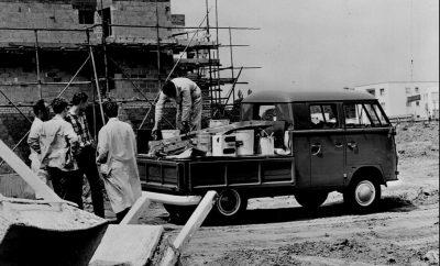 VW bus bedrijfswagen