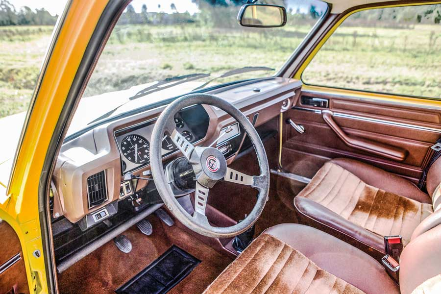 Simca 1100 Ti interieur