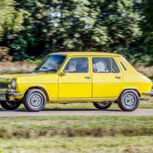 Simca 1100 Ti actiefoto